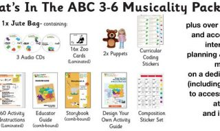 ABC Creative Music Musicality Resource for Early Years