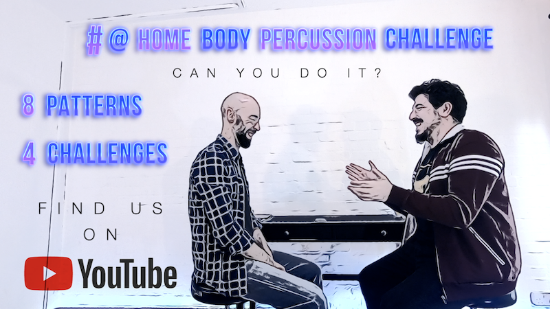 Body Percussion Challenges (Nuno Brito)