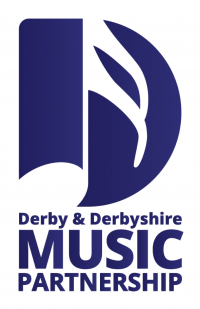 Derby and Derbyshire Music Partnership logo