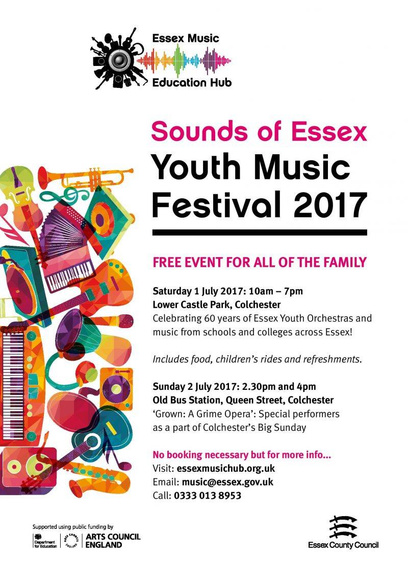 Sounds of Essex Youth Music Festival | Music Mark