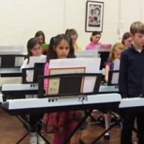 BYMT's Little Piano Virtuosi perform BBC Ten Pieces