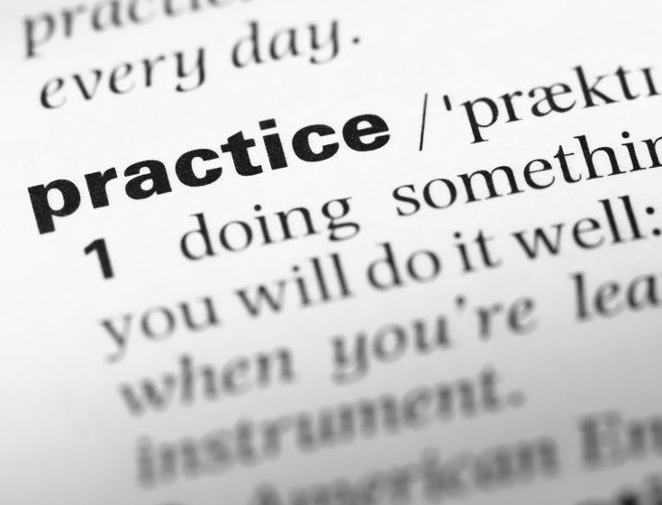 Influencing practice