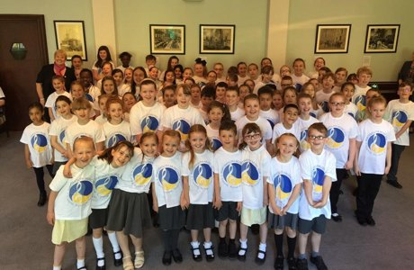 Inspirational Young Choir for New Lord Mayor of Portsmouth