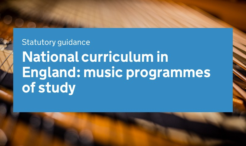 National Curriculum in Music - Secondary