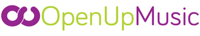 OpenUp Music logo