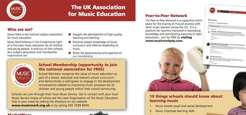 Music Mark featured in 'Your Subject Association'