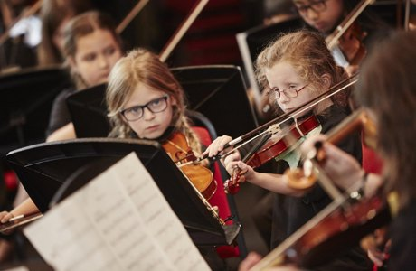 600 of Sutton's Youngest musicians raise the roof on Fairfield Halls!
